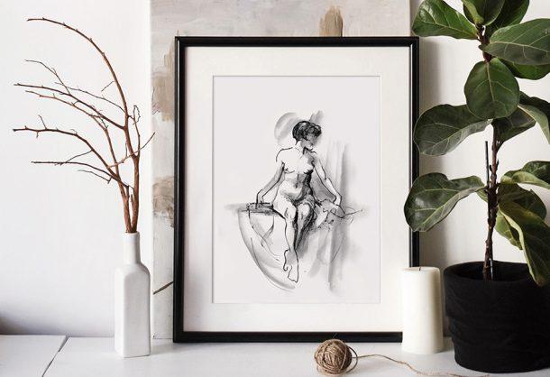 Free Nude Printable Ink Imaginarium